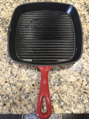 Cast Iron grill pan for Sale in Diamond Bar, CA