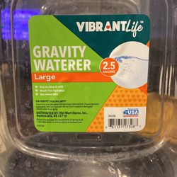 Large Gravity Waterer for Sale in San Angelo,  TX