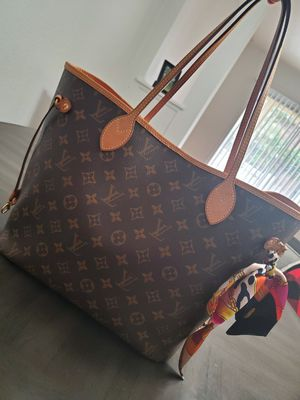 MINT CONDITION LOUIS VUITTON NEVERFULL MM BAG AUTHENTIC for Sale in Riverside, CA