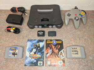 Nintendo 64 w\ 2 Games, 2 Manuals, & Controller for Sale in Orlando, FL