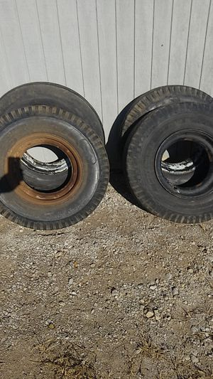 Heavy duty lowboy tires for Sale in Johnstown, OH