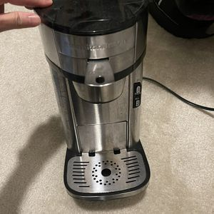 Hamilton Beach Scoop Single Serve Coffee Maker, Fast Brewing, Stainless Steel (49981A) for Sale in Irvine, CA