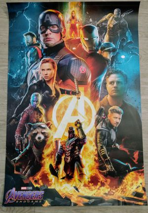 Limited edition ***Original Avengers Endgame Poster for Sale in San Jose, CA