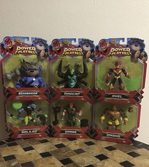 NEW POWER PLAYERS FIGURES $8each for Sale in Los Angeles, CA
