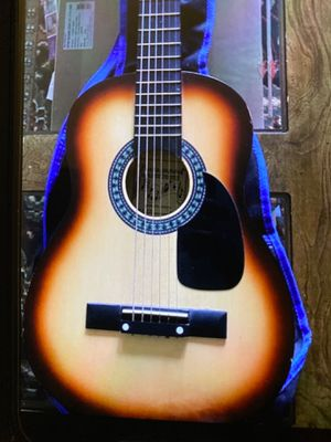 Guitar Mini size- Burswood Acoustic Guitar- Model JF -30S with case for Sale in Schaumburg, IL