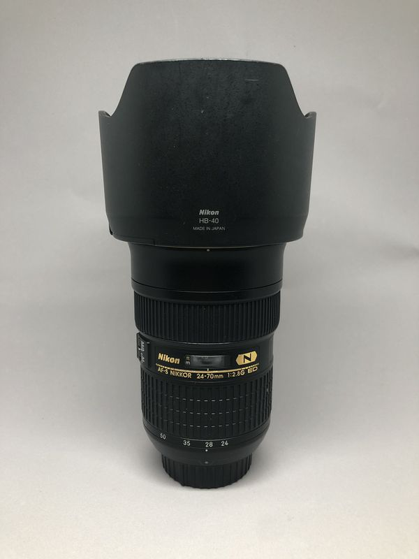 Nikon 24-70 f/2.8G Nikkor Camera Lens
