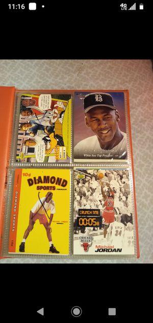 Michael Jordan Basketball and Baseball cards for Sale in Lakewood, WA