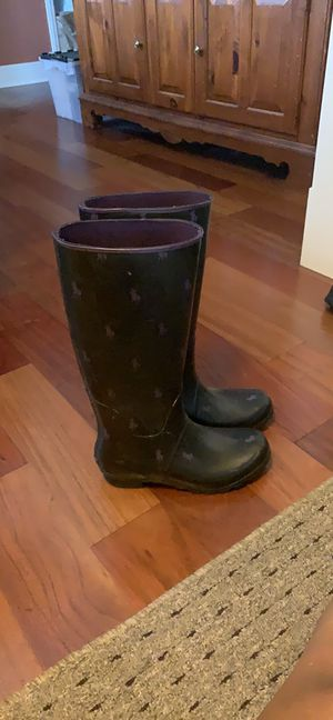 POLO BOOTS SIZE 8 for Sale in Silver Spring, MD