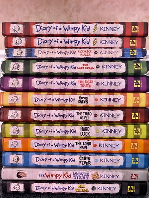 12 Diary of a Whimpy Kid Books for Sale in Kissimmee, FL