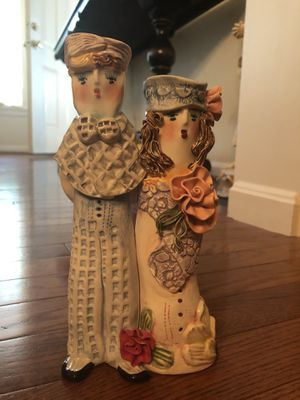 Ganz Bride and Groom ceramic candle holder for Sale in LUTHVLE TIMON, MD