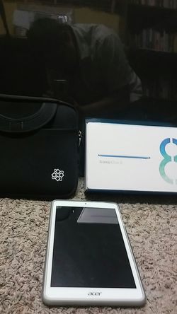 Acer Iconia One Tablet B1-150 16 GB Wi-Fi Case Carrying Pouch for Sale in West Sacramento,  CA