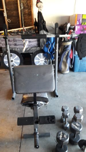 210 lb. Olympic Weight Set for Sale for Sale in Corona, CA