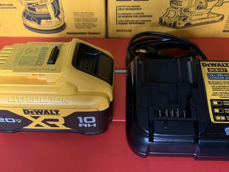 Dewalt 20v Max Xr 10ah Battery And Charger for Sale in Miami,  FL