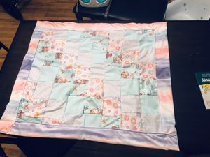 Hand made quilted blanket for Sale in Junction City, OR