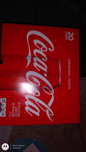 Brand New pack of 20 coke for sale..... for Sale in San Antonio, TX