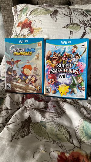 Nintendo Wii U video games for Sale in San Bernardino, CA