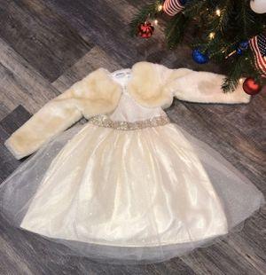 Girls size 6 fancy Winter dress for Sale in Joliet, IL