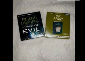 Two, unopened, unused audio books for Sale in Delta, CO