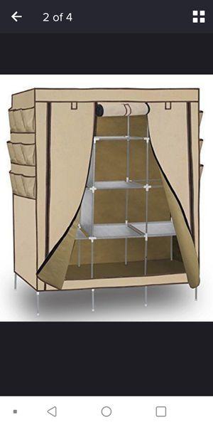 Portable Closet Organizer with non-woven Fabric Cover for Sale in Woodbridge, VA