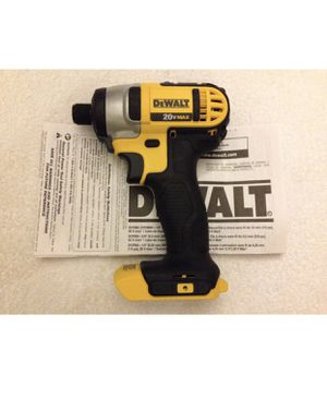 "Sevenden nuevas erramoentas You are bidding on a brand new Dewalt 20 volt Max DCF885B 1/4"" impact driver with and built in LED. Item is new without for Sale in US"