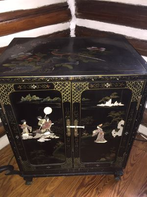 Oriental Carved chest for Sale in Medford, NJ