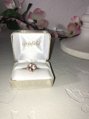 Lamore 14 k rose gold engagement ring and wedding band for Sale in Pasco, WA