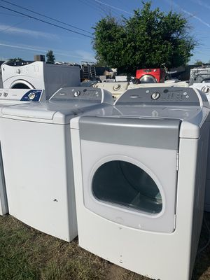 Whirlpool cabrio washer and dryer set @delivery available for Sale in Phoenix, AZ