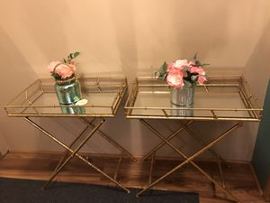 End tables or tray tables for Sale in Denver, CO