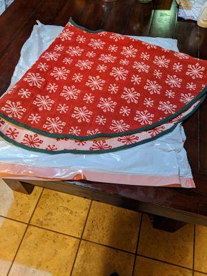Christmas Tree Skirt for Sale in Fontana, CA