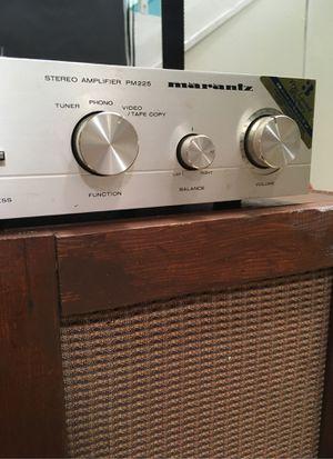 Marantz PM 225 stereo amplifier for Sale in Alameda, CA