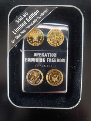 Operation Enduring freedom Zippo for Sale in Barnegat, NJ