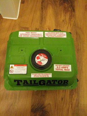 TailGator Generator 6.5 amps for Sale in St. Louis, MO