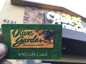 50$ card to Olive Garden for Sale in Seattle, WA