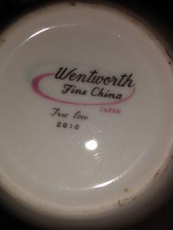 wentworth fine china true love 2616 japan for Sale in Anaheim,  CA