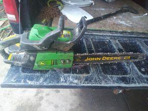 John Deere chainsaw for Sale in Detroit, MI