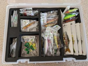 Fishing 🎣 Lure Value Set (30 items) / All brand new items for Sale in Torrance, CA