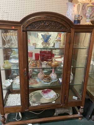 Antique Glass Display Cabinet for Sale in Orange, CA