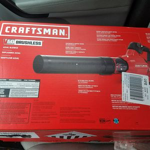 60v craftsman leaf blower for Sale in Cranberry Township, PA