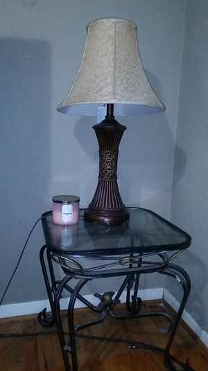 Coffe table & lamp set for Sale in Lancaster, TX