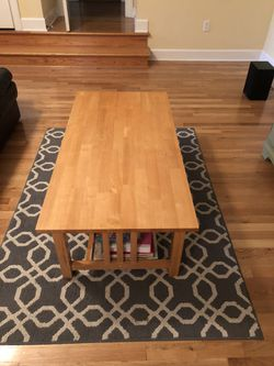 Wood Coffee Table for Sale in Prattville,  AL