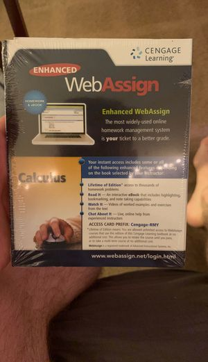 Web assign access code for Sale in Tempe, AZ