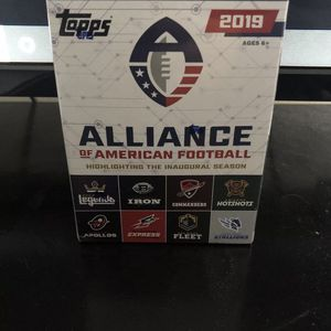 Alliance Of American Football Trading Cards Box Set for Sale in Fort Myers Beach, FL