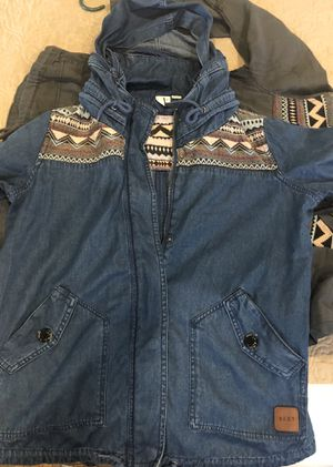 Roxy Denim Aztec jacket for Sale in Hacienda Heights, CA