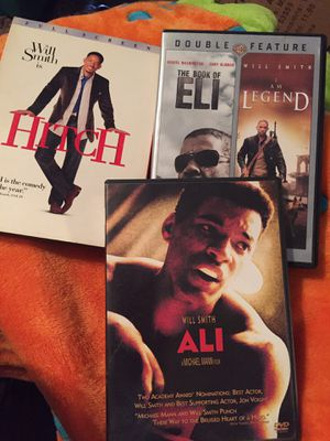 Will smith collection dvds for Sale in Jefferson City, MO