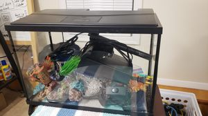 5.5 Gallon Fish Tank/Aquarium Set for Sale in Olney, MD