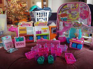 Shopkins 3 Playsets Lot for Sale in Everett, WA