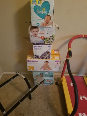 Pampers all sizes and wipes for Sale in Spring, TX