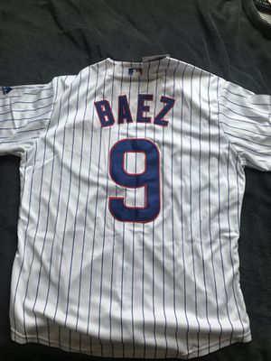 Javy Baez Chicago Cubs baseball jersey for Sale in Long Beach, CA