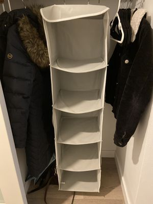 Closet organizer for Sale in Seattle, WA