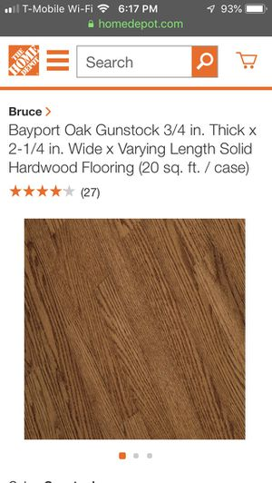 Bruce Pre Finished Oak Hardwood Flooring for Sale in Woodinville, WA